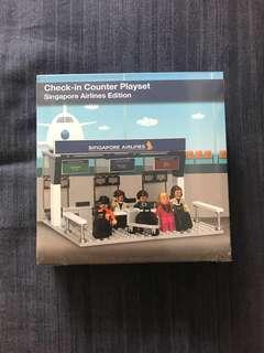 Singapore Airlines Check In Counter Playset