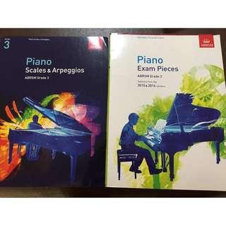 ABRSM Grade 3 Piano Scales and Pieces