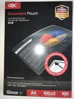 🚚 GBC A4 laminating pouch