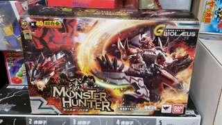 全新 Bandai 40 超合金 魔物獵人 Monster Hunter 10週年版 天空之王者 紅火龍 G級完全變形