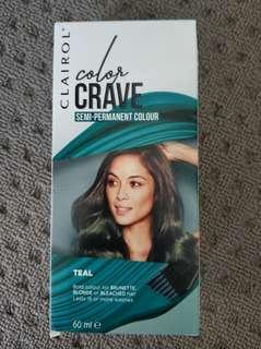 Clairol Color Crave Teal 60ml NEW