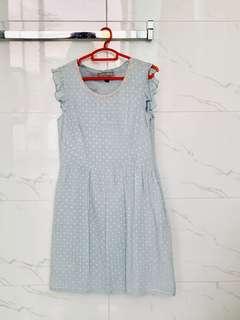 Blue L'zzie dress