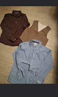 11pcs of tops , jacket vest TAKE ALL ONLY