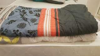 2 QUILTS queen size