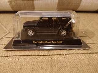 kyosho京商 Benz Typ G500 無卡無盒 透明盒爛如圖