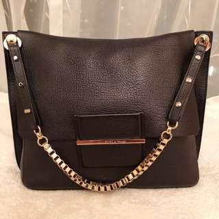 <New> Furla Italian-Made Leather Shoulder Bag