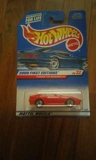 Hot wheels Ferrari 550 Maranello
