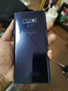 samsung note 9 full set mint condition