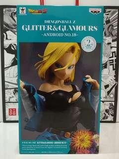 Banpresto DBZ Dragonball Z Glitter & Glamours Android 18 Special Color MISB