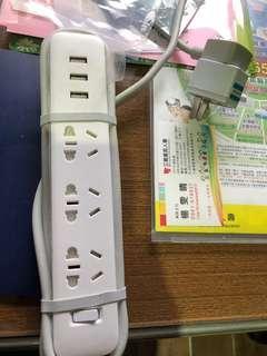 🚚 小米延長線 插線板 (大陸版/二手)