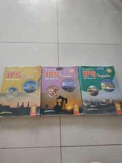 Buku IPS Terpadu SMP Kelas 1,2,3