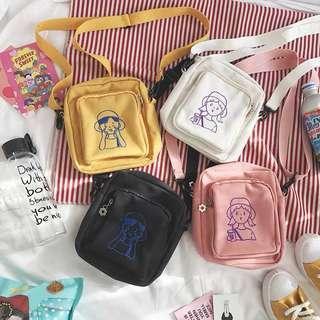 ulzzang mini sling bag 💐