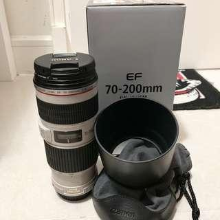 Canon EF 70-200mm F/4 L IS USM 99%新
