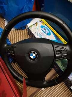 2012 BMW 528i (F10) Original Steering complete with airbag
