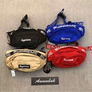 🚚 Supreme Waist Bag - In Red