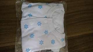 全新初生嬰兒雪印長袖外套
