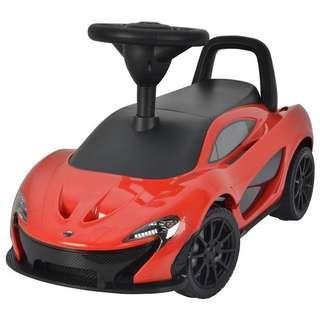 🚚 McLaren P1 ride on car (Red)