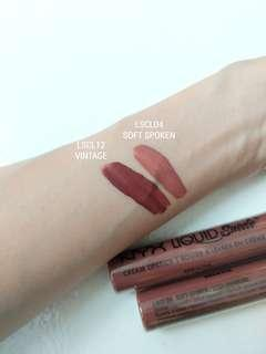 NYX lip cream - Soft-spoken