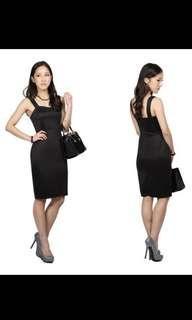 🚚 Hollyhoque Black Bodycon Dress