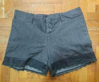 🚚 Finley Lace-trim Shorts