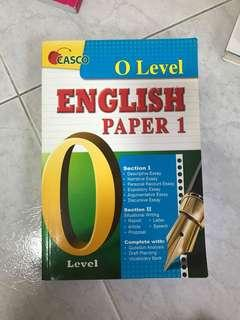 🚚 O'Levels English paper 1 guide