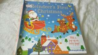 Reindeer's First Christmas pop-up book