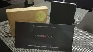 Tomato photography gift voucher