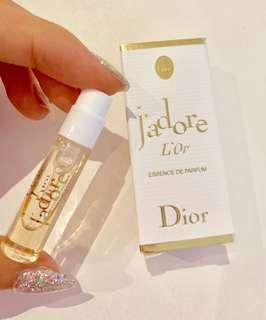 DIOR j'adore L'Or travel size perfume