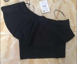 Pull and Bear One shoulder Top