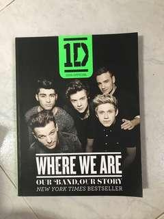 🚚 1D WHERE WE ARE book