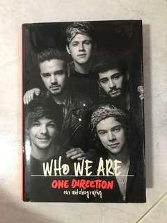 🚚 1D WHO WE ARE autobiography