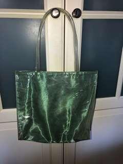 Clinique translucent bag