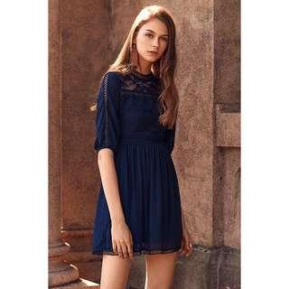 BNWOT TCL Lavin Lace Babydoll Dress