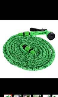 50 feet expandable garden hose with spray hose