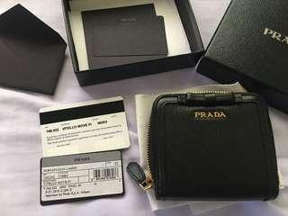 Authentic Prada Wallet Vitello Move FI
