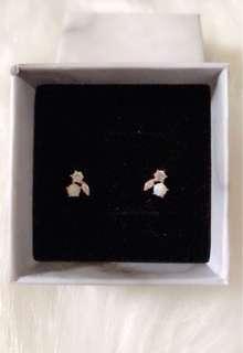 韓國純銀耳環