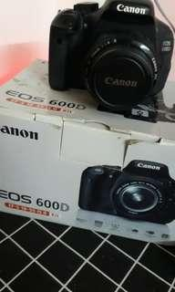 Canon EOS 600D full kit with box