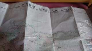 行出用地圖3號地圖 上水及粉嶺