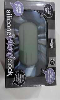 "Smiggle Silicone ""talking"" clock"