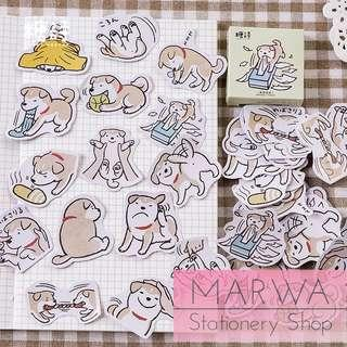 45pcs Playful Shiba Inu Dogs Sticker Pack (Candy Poetry-CP059)