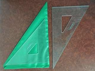 🚚 32cm Triangular Set Square