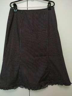 A-line skirt - Striped