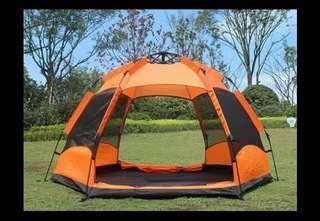 戶外帳篷5~8person double layer water proof tent alto tent