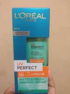L'oreal UV Perfect Matte and Fresh