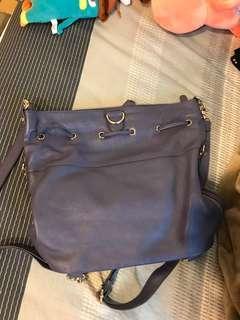 莫蘭迪感紫色後背或肩背包包