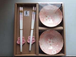 Bowl & Chopstick Set