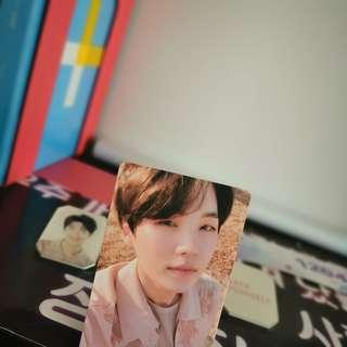 *price reduce WTS official yoongi tear photocard