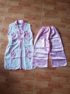 🚚 Brand New Vietnamese Girl's traditional pants set
