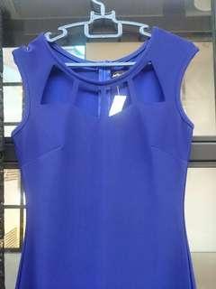 Something Borrowed Blue dress #JuneToGo