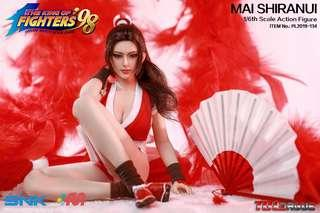 [PO] Mai Shiranui from King of Fighters 98 (KOF) by TBLeague pl2019-134 1/6[phicen / Hot Toys / Not Super Duck]